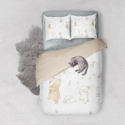 Ilustración infantil personalizada para ropa de cama