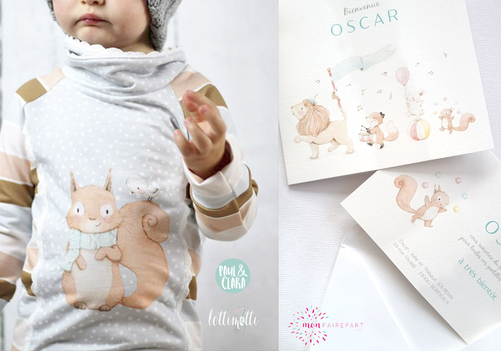 Ilustraciones infantiles personalizadas para producto