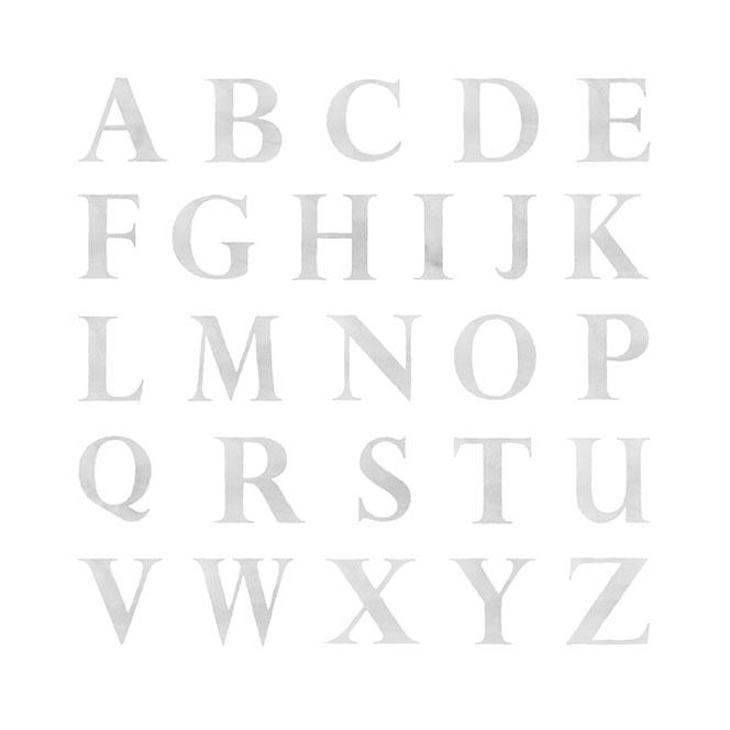 Lámina infantil Inicial Letras