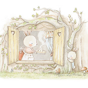 Nursery storybook illustration