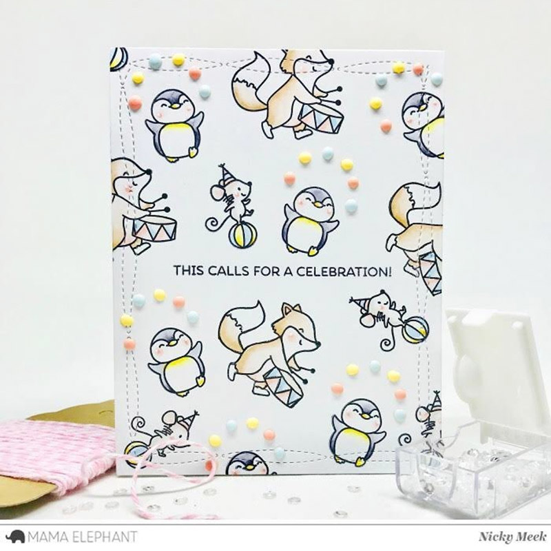 Personalized illustrations for clear stamps