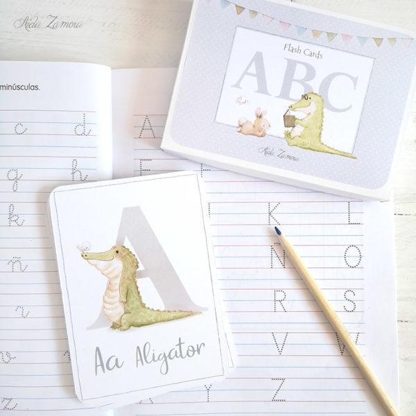 Tarjetas Montessori