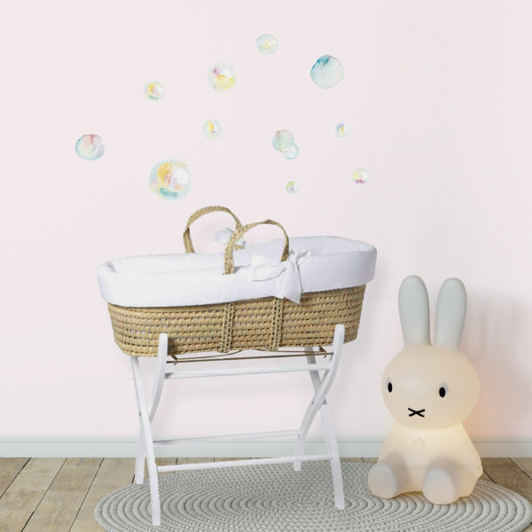 Bubbles fabric wall decal