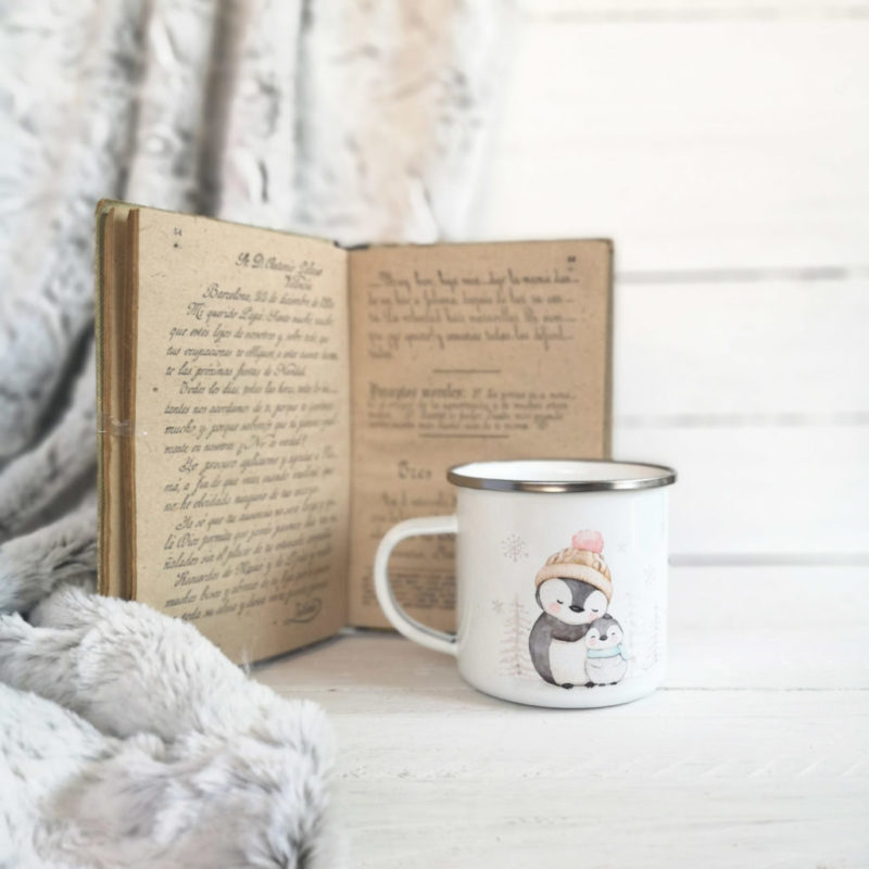 Metalic Mugs Penguins